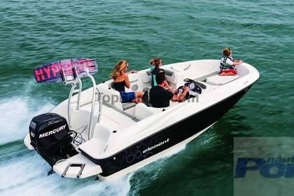 Charter Motorboat Bayliner 180 Element Alicante