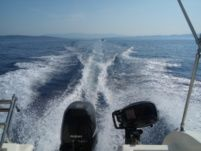 Saver 540 Cabin Fisher in Trogir