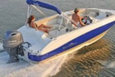 Charter motorboat in Fort Lauderdale