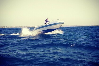 Rental Motorboat AQUABAT 550 Favignana