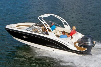 Verhuur Motorboot Chaparral 250 Suncoast Norwalk
