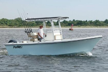 Hire Motorboat Parker Big Bay 23 Jensen Beach