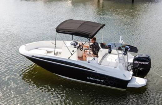 Charter Motorboat Bayliner Element E5 Can Pastilla