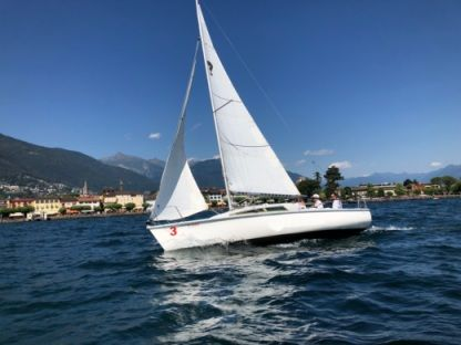 Charter Sailboat Archambault Surprise Lake Maggiore