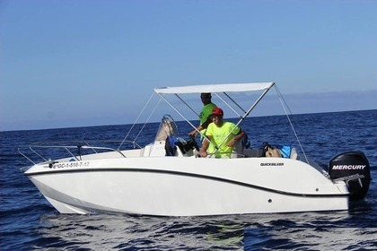 Rental Motorboat QUICKSILVER 5.35 cruiser Puerto Calero