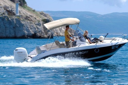 Hire Motorboat Sessa Marine Key Largo 20 Rabac