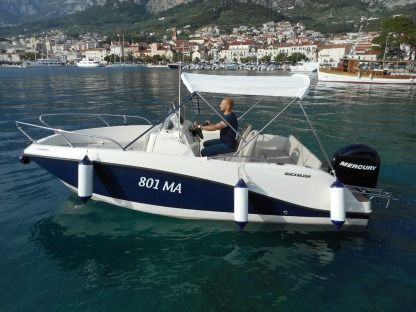 Rental Motorboat Quicksilver Activ 555 Makarska