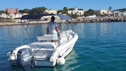 Rental Motorboat Lady 6M Leuca