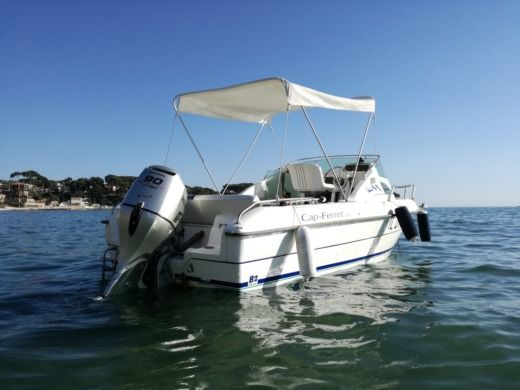Miete motorboot in Bandol