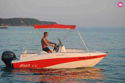 Charter Motorboat Compass 150 CC Thasos Regional Unit