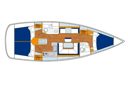 Hire Sailboat Sunsail 41 Phuket