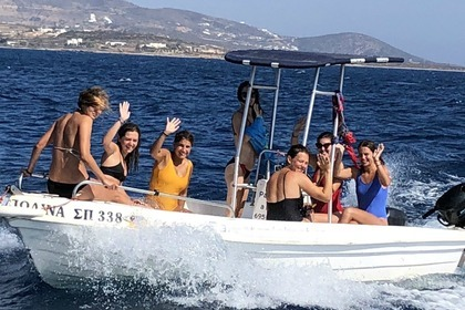 Hire Motorboat Man Open 550 Paros