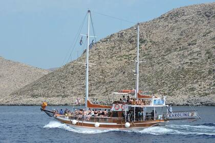 Hire Sailboat Traditional Wooden Guilleta Kos