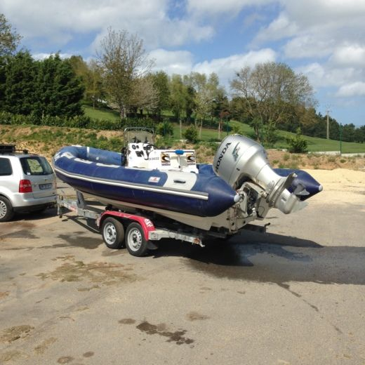 RIB AVON Adventure 580 for hire