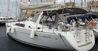 Rental Sailboat  Oceanis 50 Family Kalkara