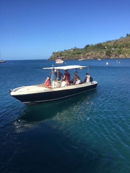 Charter Motorboat Cna Yachting Tropic 710 Bouillante