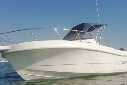 Rental Motorboat Polaris Luxury Sundeck 23 Gallipoli