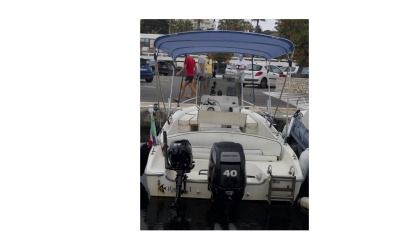 Rental Motorboat Capelli Cap 500 Juan les Pins