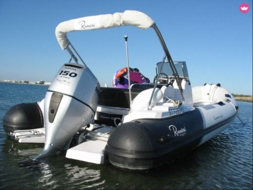 Location Semi-rigide Ranieri Cayman 21 Sport Port-Camargue