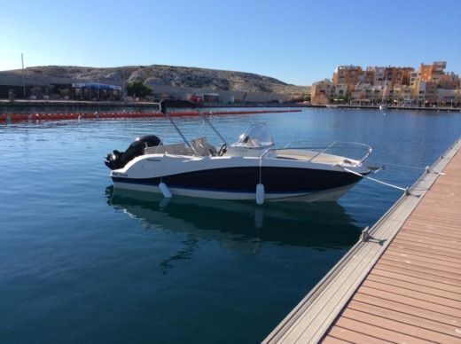 Quicksilver Activ 605 Sundeck in Marseille for hire