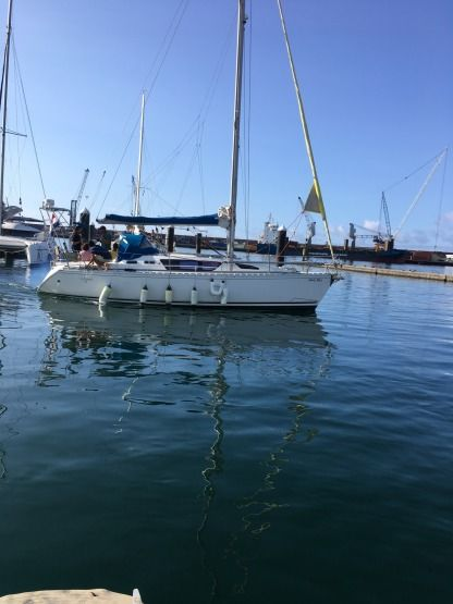 Rental Sailboat Jeanneau Sun Liberty 34 Ponta Delgada