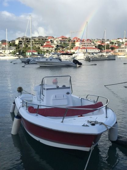 Rental Motorboat Sea Pro 186 Cc Gustavia