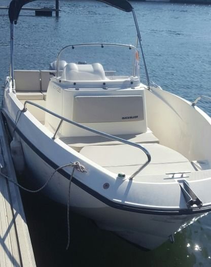 Rental Motorboat Quicksilver Open 535 Arcachon