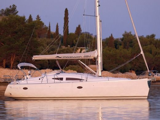 Elan 384 Impression in Šibenik for hire