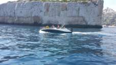 Charter motorboat in Marseille