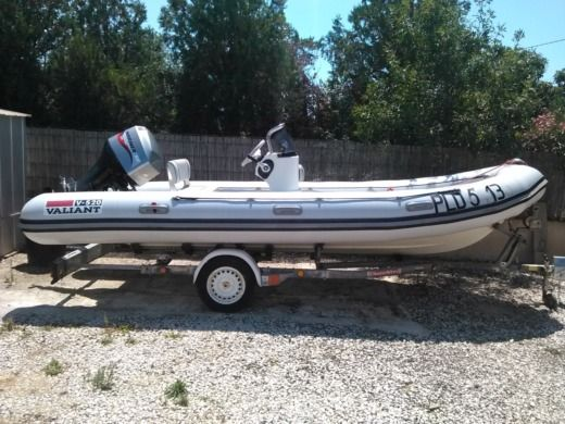 RIB Valiant 520 for hire