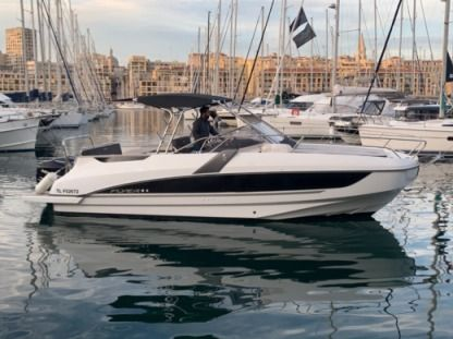 Rental Motorboat Beneteau Flyer 8.8 Spacedeck Sérignan