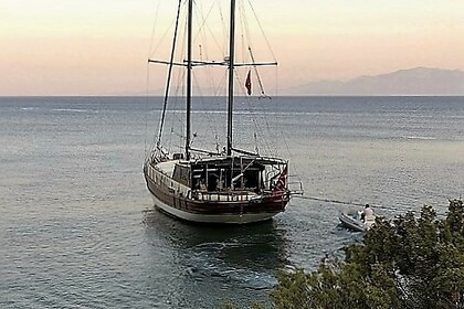 Hire Sailboat Gulet Karia Bodrum