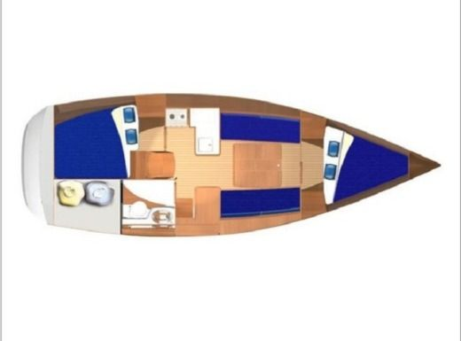 Segelboot DUFOUR 325 Grand Large zu vermieten