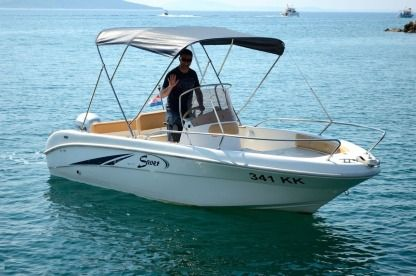 Rental Motorboat Saver 550 Open Krk