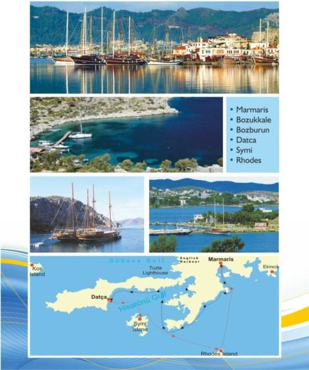 Rota Yachting Standart Gulet With 6 Cabin in Kos