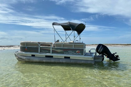 Charter Motorboat Suntracker DLX Party Barge Clearwater Beach
