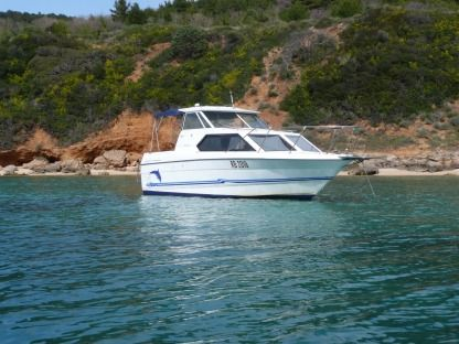 Rental Motorboat Bayliner 2452 Rab