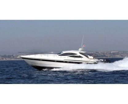 Charter Motorboat Pershing 52 Cannes