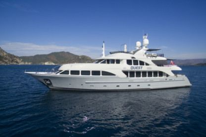Rental Motorboat Benetti 121 Marmaris