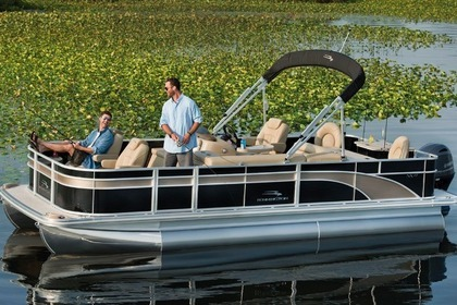 Hire Motorboat Bennington  SX22 Luxury Pontoon Boat Hilton Head Island