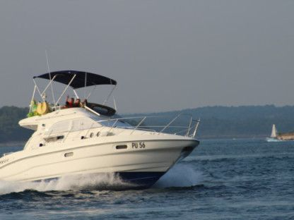 Charter Motorboat Sealine F33 Fly Podgora, Split-Dalmatia County