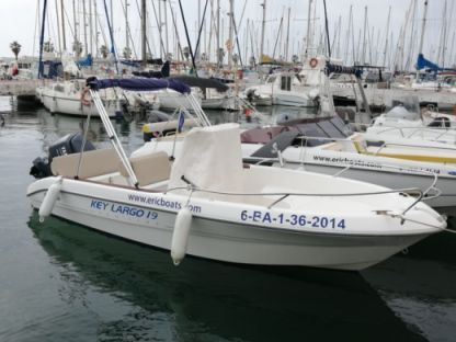 Rental Motorboat Key Largo 19 Sitges