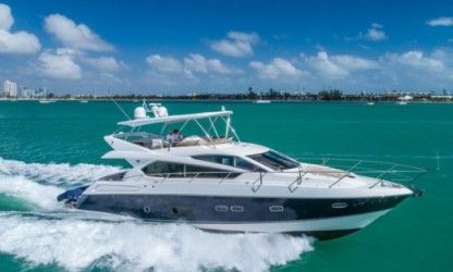 Charter Motorboat Sunseeker 70 Manhattan Victoria