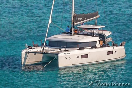 Rental Catamaran LAGOON 42 Skippered Syros