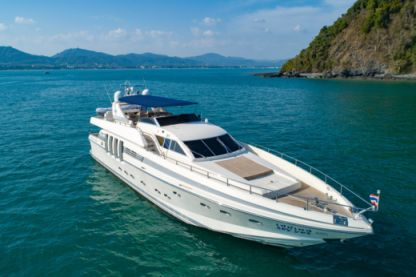 Charter Motorboat Rizzardi Technema 82 Phuket