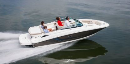 Miete Motorboot Sea Ray 210 Overnighter Poreč