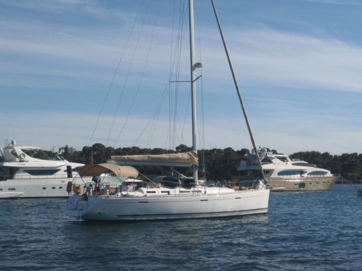 Sailboat Dufour 455 Gl for hire