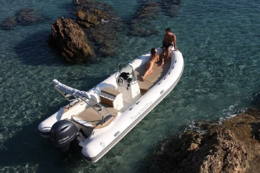 RIB Capelli Tempest 650 + Suzuki for hire