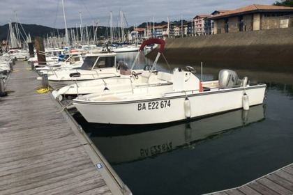 Hire Motorboat CHANTIER NAVAL DE SOCOA Couralin 545 Hendaye