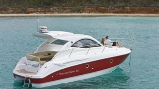 Motorboat BENETEAU Monte Carlo 32 Hard Top for hire